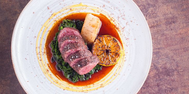 Will Holland cooks venison loin and potato rosti sous-vide in this luxurious main course recipe. To complement the venisons rich flavour the chef finishes the dish with a clementine purée, wilted kale and grated dark chocolate.