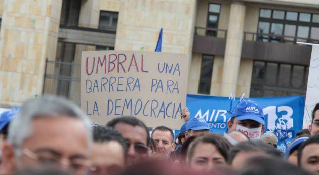 Corte estudiará el umbral para los partidos políticos , Nación - Semana.com