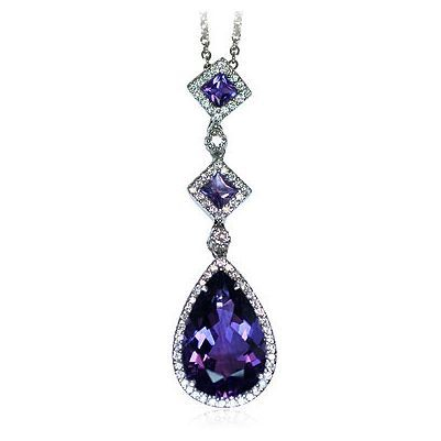 Here is another dazzling color gem stone necklace - Parris Jewelers, Hattiesburg, MS #jewelry