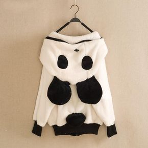 Hey, I found this really awesome Etsy listing at http://www.etsy.com/listing/160871286/kawaii-panda-hoodie-with-a-tail-girls