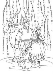 11 Best Frozen Coloring Pages Images On Pinterest