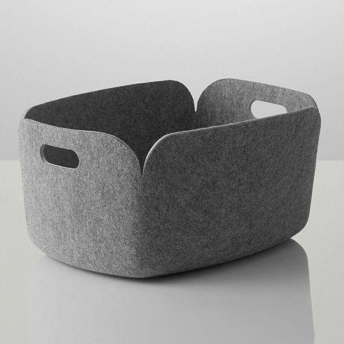 Muuto Restore Aufbewahrungskorb Grau Design Shop - Found4You
