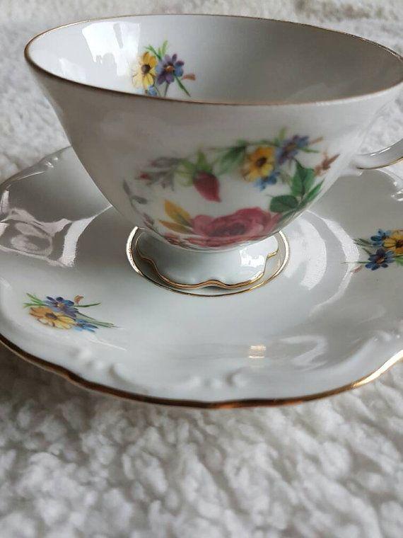 Bekijk dit items in mijn Etsy shop https://www.etsy.com/nl/listing/488548250/kronester-bavaria-vintage-koffie-kopje