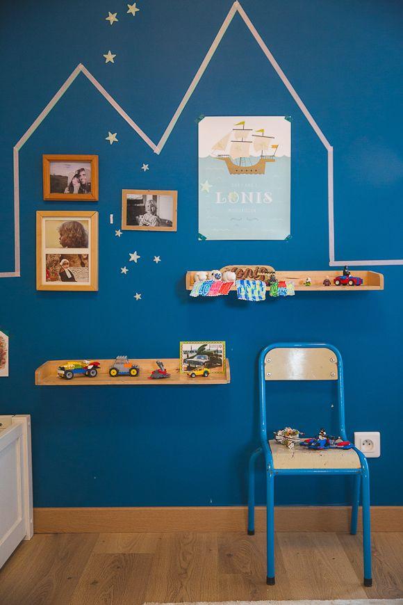 Les chambres de Marlow et Lonis La chambre bébé de Louise I. - cute, baby room, chambre bébé, chambre garcon, deco chambre enfant, bleu