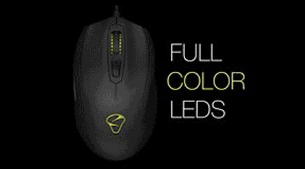 Mionix Castor Aurora - full colour LED
