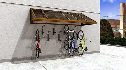 best 25 bike shelter ideas on pinterest bike storage. Black Bedroom Furniture Sets. Home Design Ideas