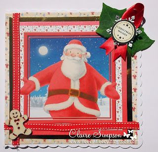 Clairebears x The Snowman & The Snowdog/ Father Christmas from #crafterscompanion