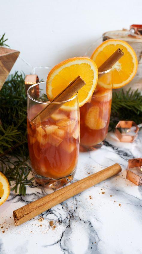 Mein Weihnachtspunsch ohne Zucker | Christmas Punch | Punsch Rezept | Sugarfree christmas punch recipe