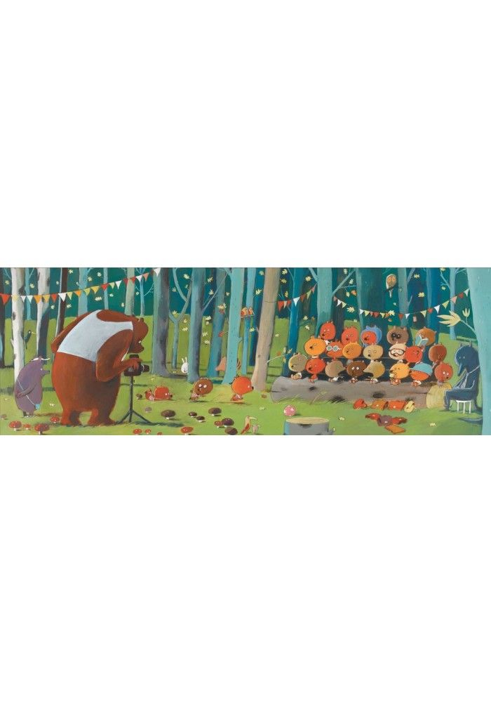 Djeco Puzzel: bosvrienden