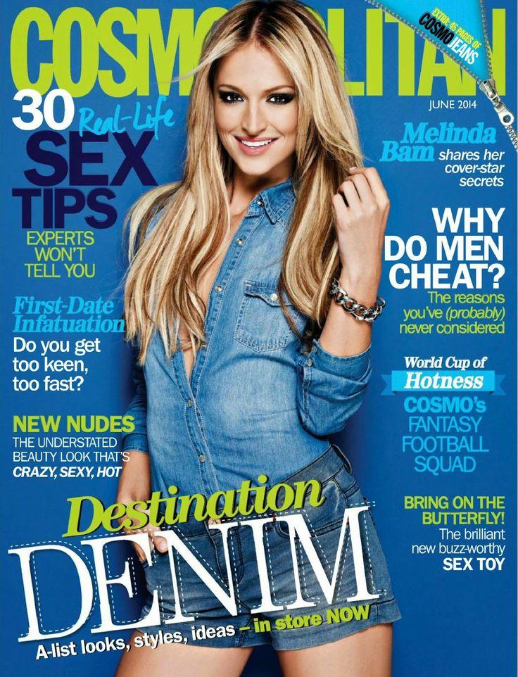 Melinda Bam For Cosmopolitan Magazine, South Africa,June 2014