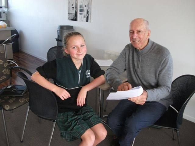 The final Young Authors Challenge Workshop was completed yesterday between John Parker & this years winning authors.   The workshops are an interactive session where the winning stories are discussed and refined. For more information on the Young Authors Challenge visit : http://ow.ly/zODTy #barfoothompson #authors