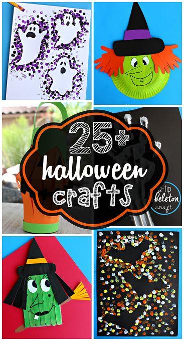 25 idées créatives pour préparer halloween avec les enfants, bricolage halloween facile