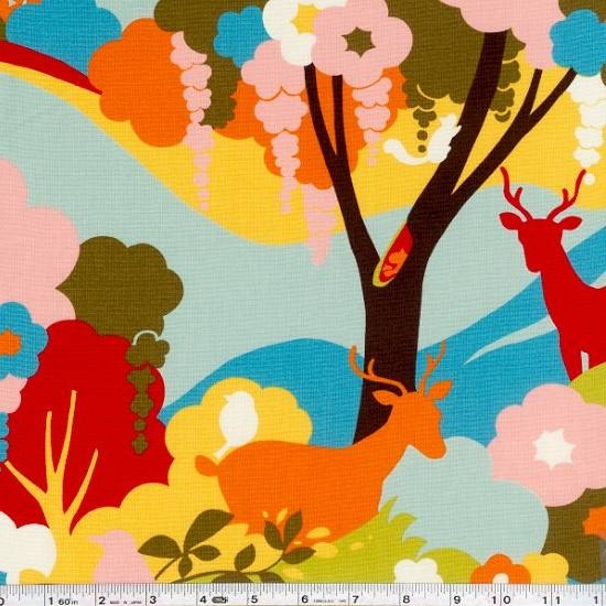 Shop | Category: Animals & Bugs | Product: Oh Deer! - Quiet Forest - Sky