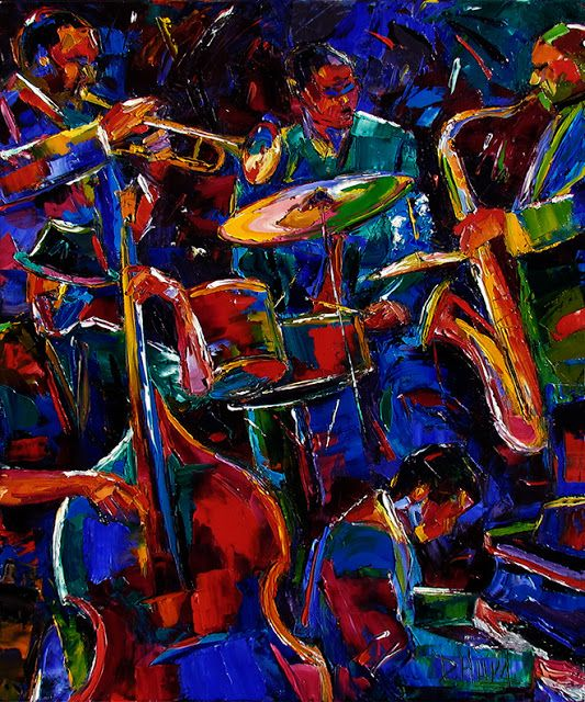 223 best images about Abstract Jazz Art by Debra Hurd on ...