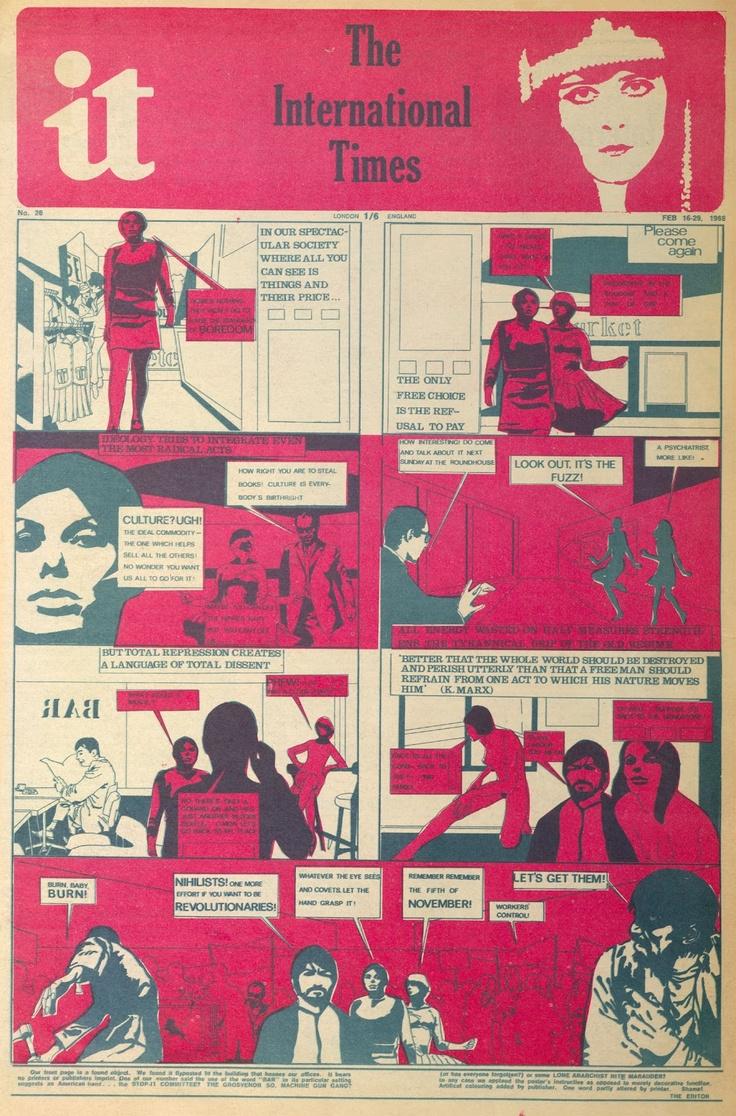 """it"" - The International Times - 1968"
