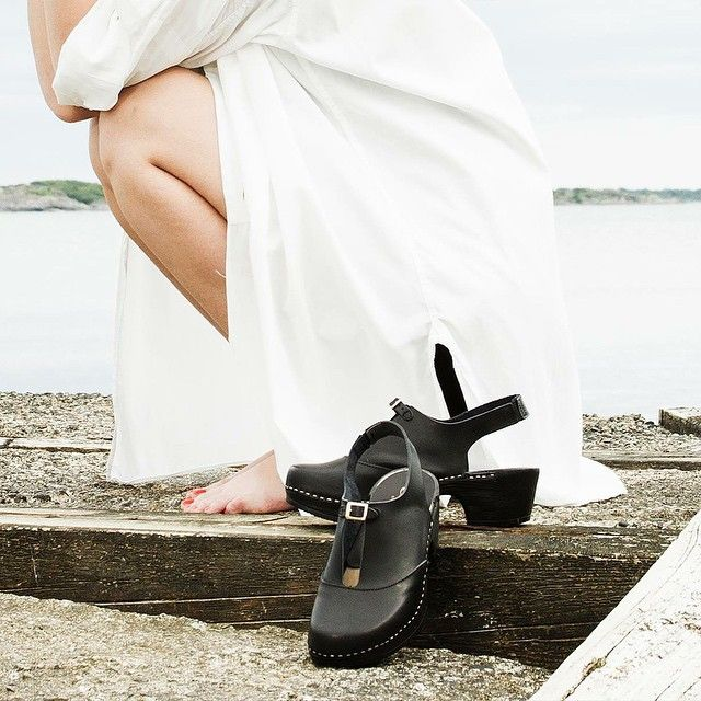 Clogs in black - Lotta