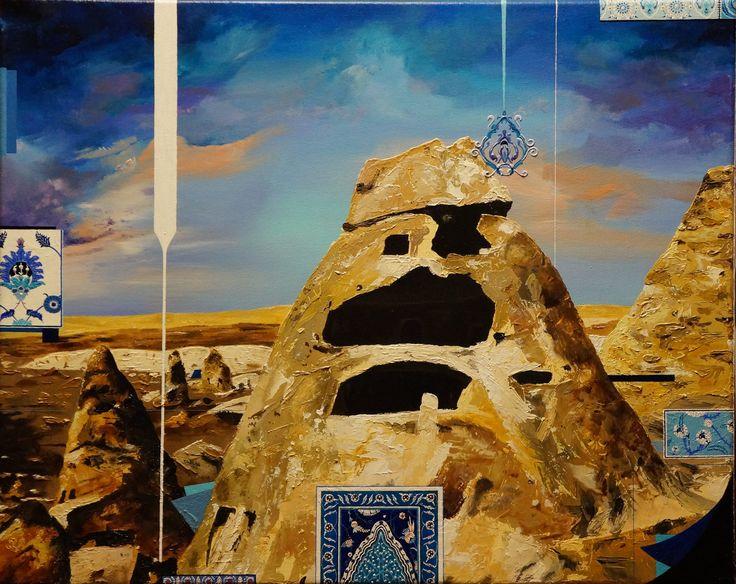 'Haven', oil on canvas, 41 x 51cm. www.jeremyelkington.weebly.com