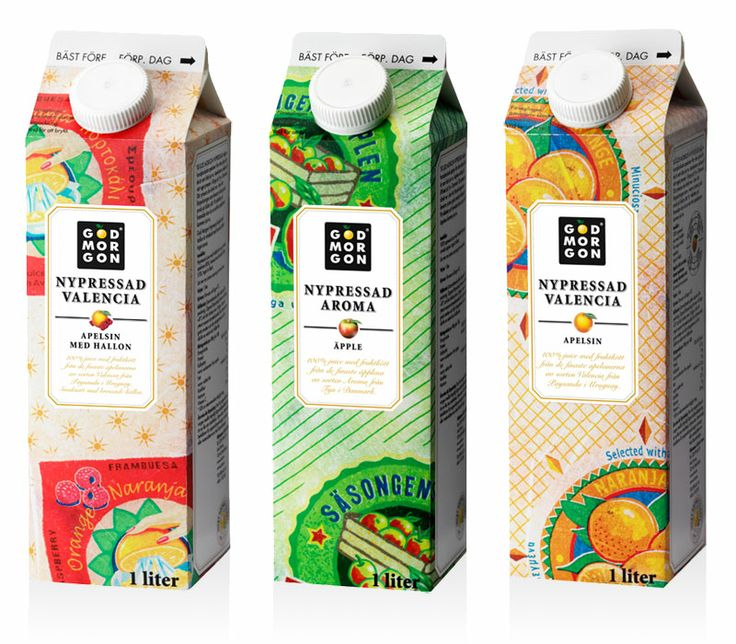 God Morgon Nypressad Who wants some juice #packaging PD