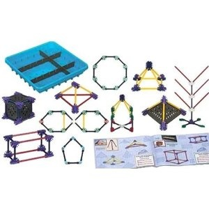 K'NEX Education: Elementary Math and Geometry-142 pcs !! seriously - Geometry with k'nex!!