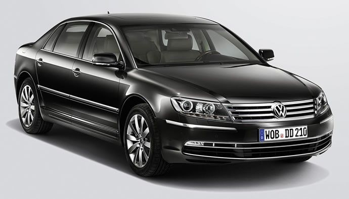 New Volkswagen Phaeton flagship will be all electric
