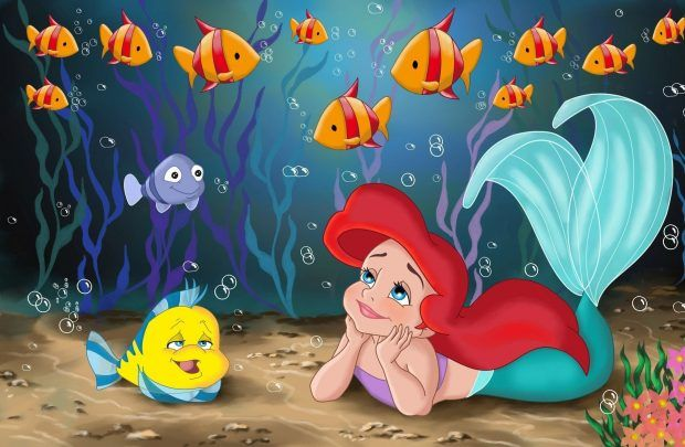 Little Mermaid Wallpaper Free Download Airwallpaper Com Little Mermaid Wallpaper Mermaid Wallpapers Mermaid Phone