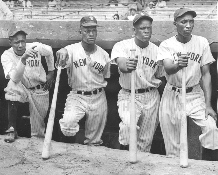 1942 New York Black Yankees Negro League Original Photo RARE Killer Shot WOW