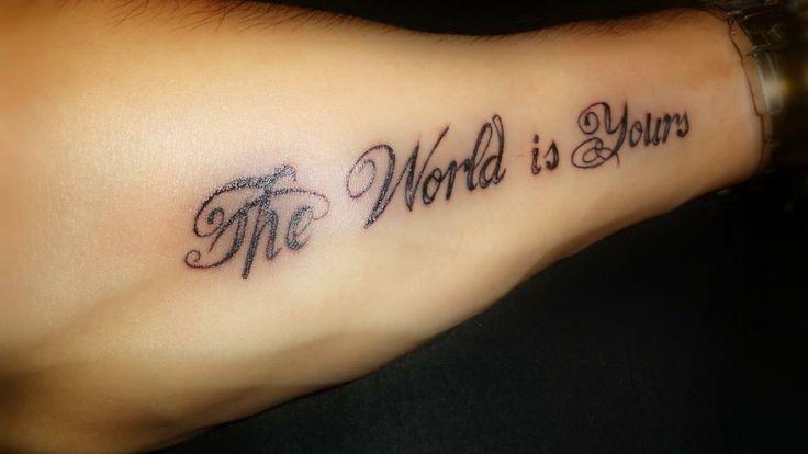 Tattoo arm | Tatuaggio braccio Scarface Tony Montana