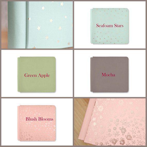 Creative Memories Scrapbooking 8x8 Green Album Coverset