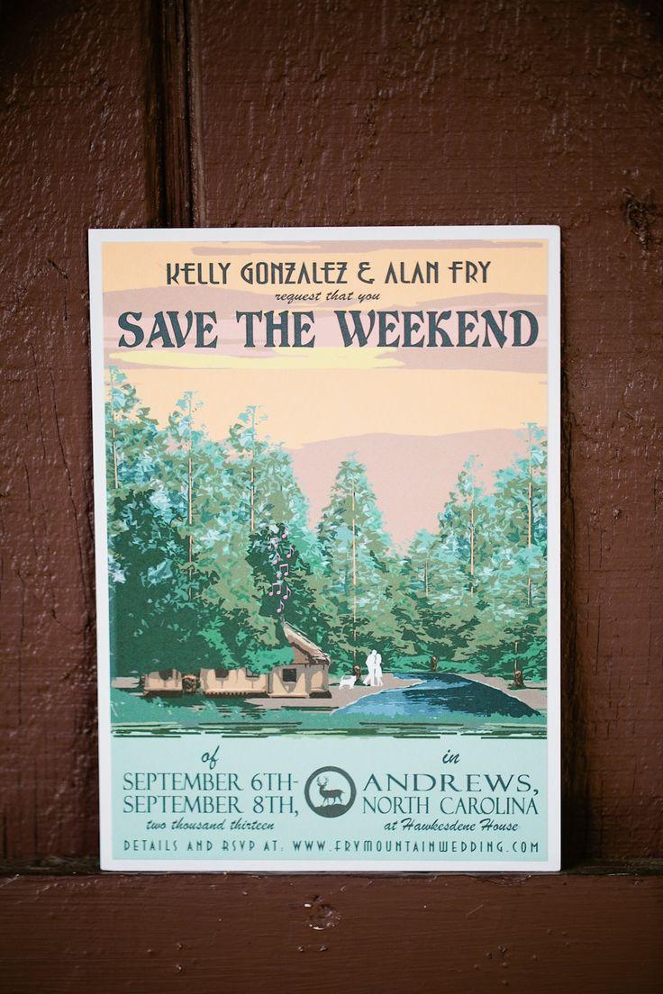 Nature Themed Save the Dates   Keepsake Memories Photography   Theknot.com
