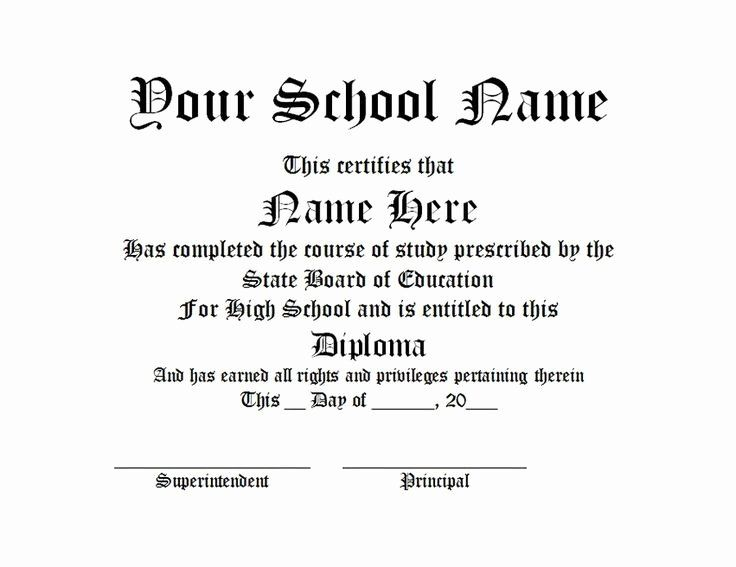 High School Diploma Template Word Best Of 17 Best Ideas About Plantilla Diploma Wo High School Diploma Graduation Certificate Template Free High School Diploma