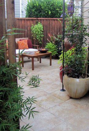 Photo-4-floorCourtyards Gardens, Small Patios, Patios Design, Highri Gardens, Garden Gates, Courtyards Makeovers, Gardens Gates, Tropical Courtyards, Tropical Gardens