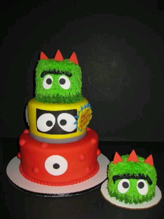 Yo gabba gabba smash cake! | Cake | Pinterest | Yo gabba ...