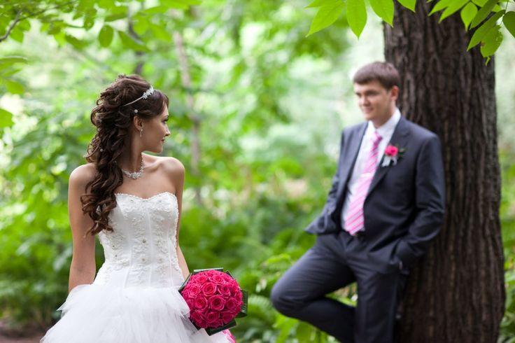 Классическая свадьба Алисы и Кирилла. Розовая ткань, белые цветы, флористика. Чарующая классика эпохи Ренессанса. Заказать свадьбу
