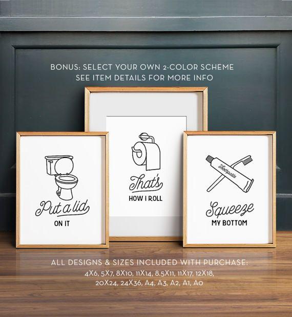 Kids Bathroom Wall Art best 25+ bathroom printable ideas on pinterest | bathroom wall art