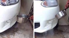 Le parc-choc en plastique de votre voiture est enfoncé ? Pas envie d'aller chez le garagiste pour le faire réparer ? Vous avez bien raison ! Ça risque de vous coûter une fortune... Que dir