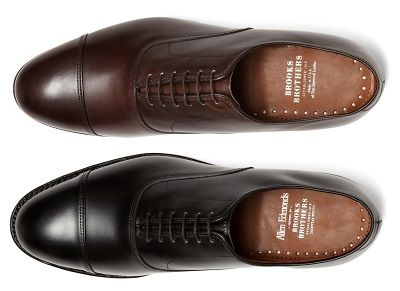 Allen Edmons for Brooks Brothers Cap-Toes | Brooks Brothers 25% off Friends & Family - Picks for Men on Dappered.com