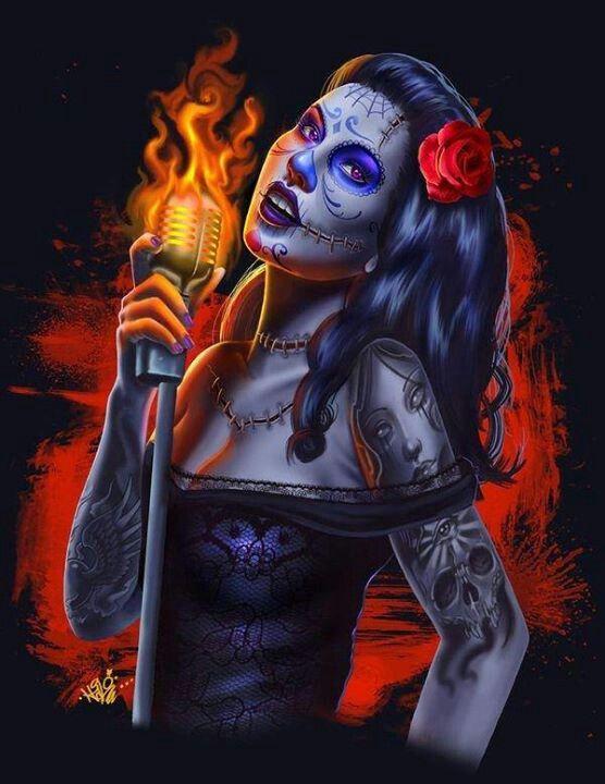 Calaca Chic Singer