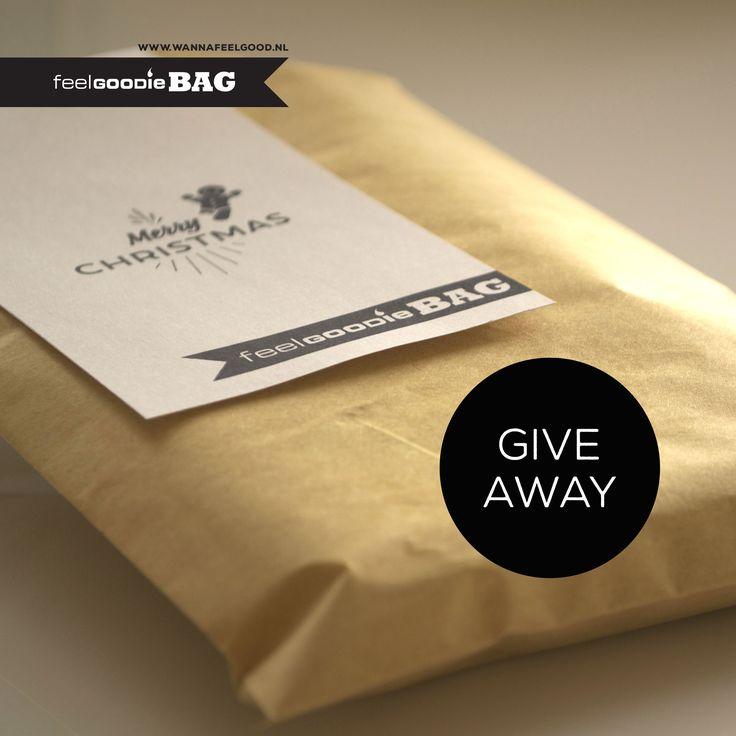 Gratis Facebook give away! X-MAS Feel Goodie-bag. Wil je meedoen met de loting, kijk dan op: https://www.facebook.com/wannafeelgood