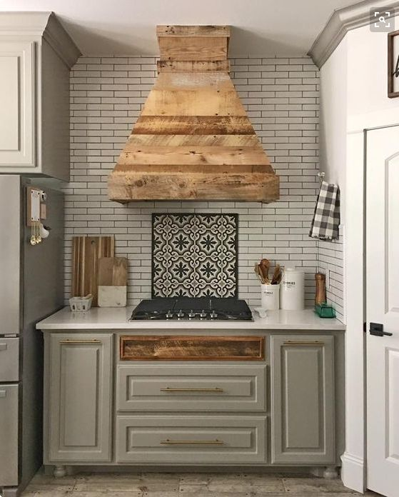 DIY Vent Hood + new floors, counters and sink: Cottage House Flip Episode 9 | Jenna Sue Design Blog