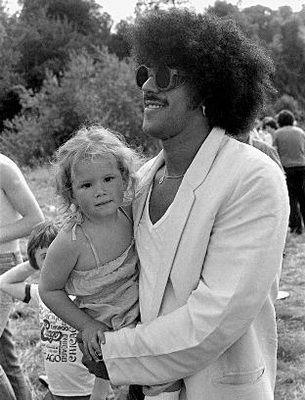 Phil Lynott & daughter