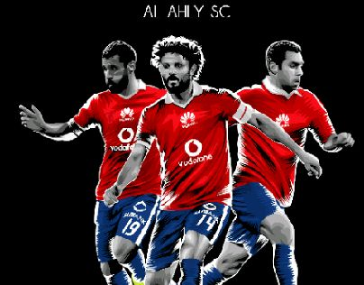"Check out this @Behance project: ""Vector Art For Al Ahly SC""…"