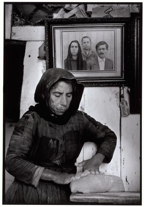 Kneading Dough by Constantine Manos - Elounta, Crete. Greece 1964