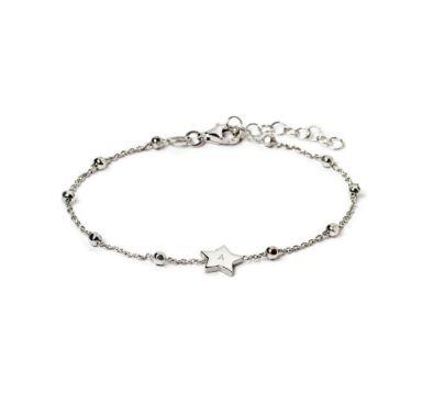 Delicate, personalized star bracelet