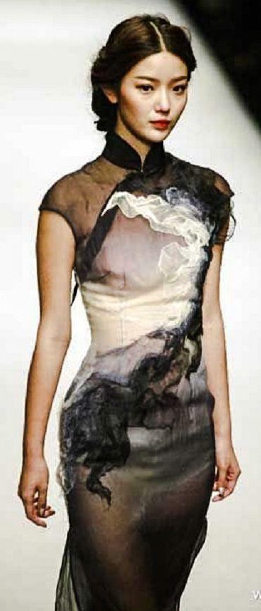 (China Fashion Week) modern qipao