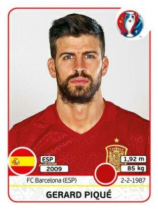 EURO 2016 - Gerard Piqué - España