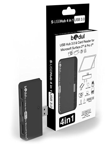HUB USB 3.0 avec 2 ports USB + lecteur de carte 4 en 1 Microsoft Surface Pro 2, Surface 2, Surface Pro. Amazon.fr