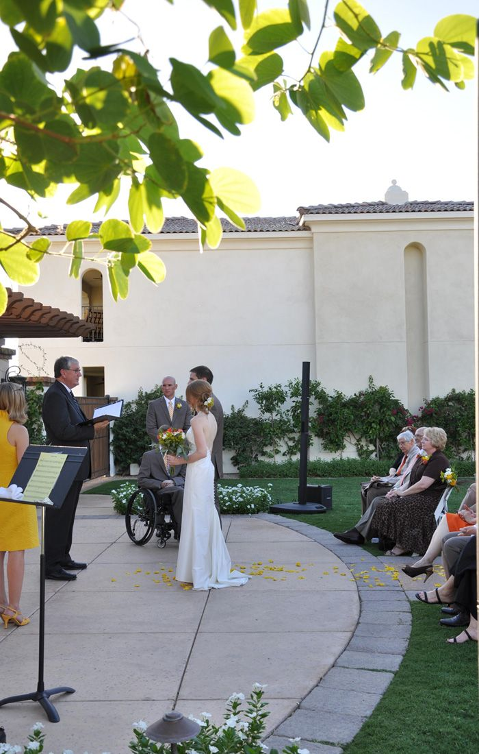 Small Wedding Intimate Destination At Montelucia Resort And Spa
