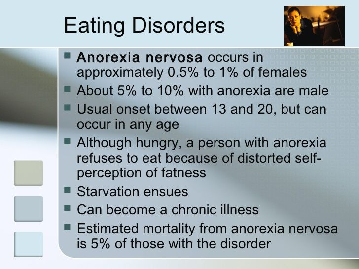 Signs of an Eating Disorder