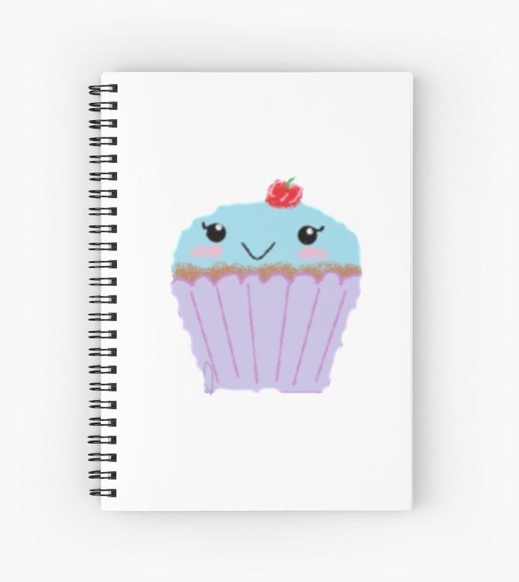 School notebook | Cupcake Cutie by KawaiiNMore