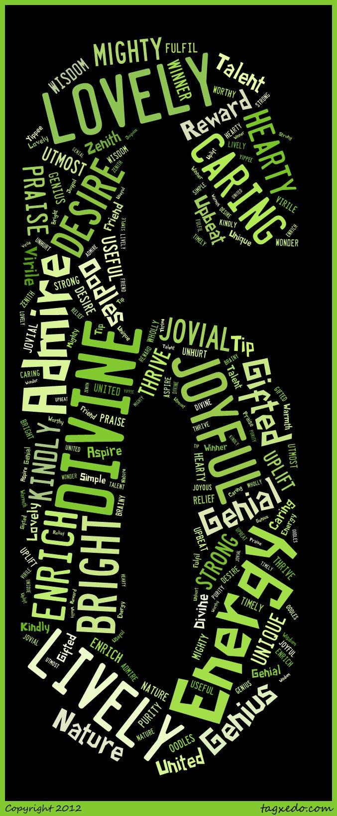 6letterwordstoinspire 6 letter words, Green quotes